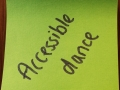 Accessible Dance