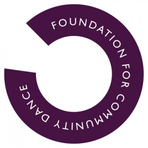 Foundation for Community Dance Logo Colour Screen Use