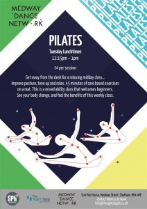 Lunchtime Pilates for Adults