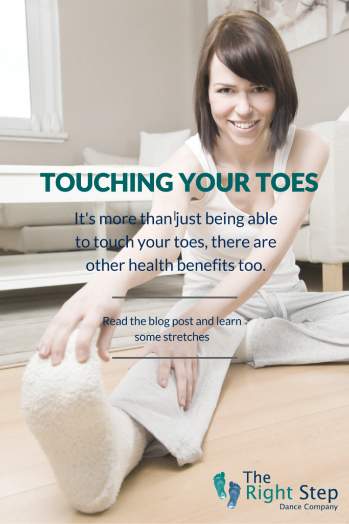 Touching your toes